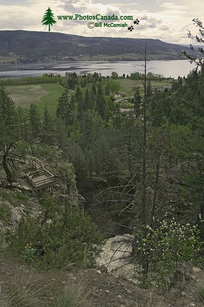 Fintry Falls Park, Okanagan Lake, British Columbia, Canada CM11-006