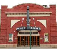 Empress Theatre, Fort Macleod Historic Town, Alberta, Canada CMX-013A