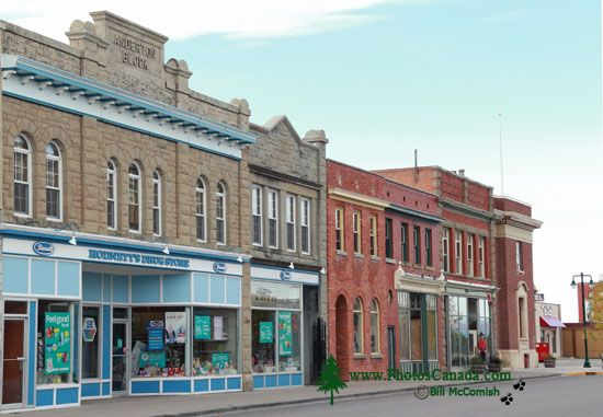 Fort Macleod Historic Town, Alberta, Canada CMX-003