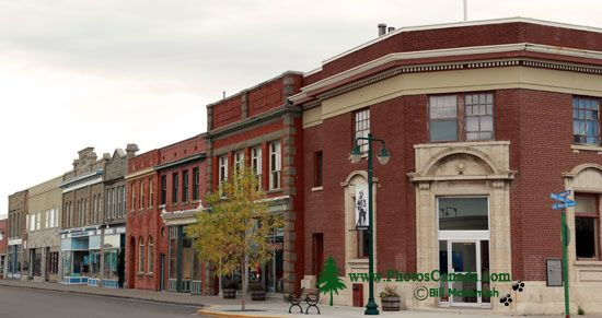 Fort Macleod Historic Town, Alberta, Canada CMX-006