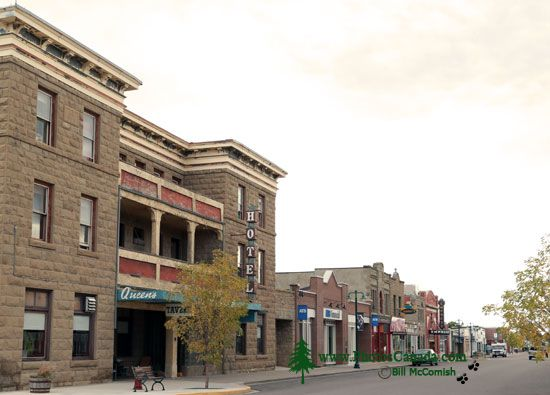 Fort Macleod Historic Town, Alberta, Canada CMX-007