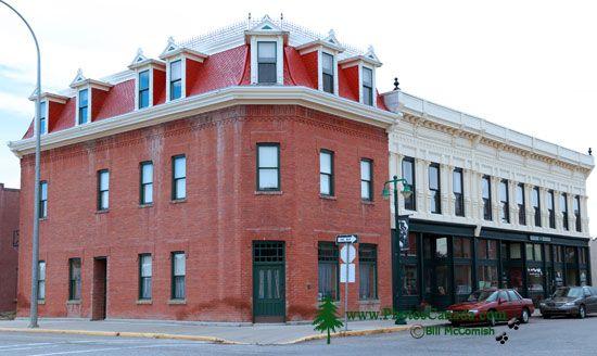 Fort Macleod Historic Town, Alberta, Canada CMX-009
