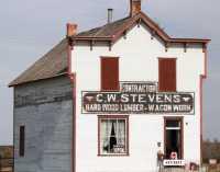 Fort Macleod Historic Town, Alberta, Canada CMX-014