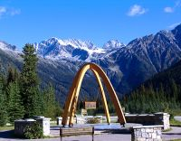 Rogers Pass Summit, Glacier National Park, British Columbia, Canada 01