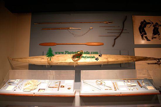 Glenbow Museum, Eskimo Kayak, First Nations Gallery, Calgary, Alberta, Canada CM11-35