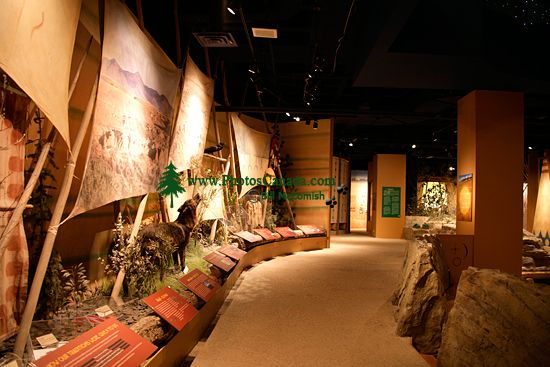 Glenbow Museum, First Nations Gallery, Calgary, Alberta, Canada CM11-01