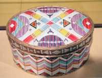 Glenbow Museum, Native Basket, First Nations Gallery, Calgary, Alberta, Canada CM11-09