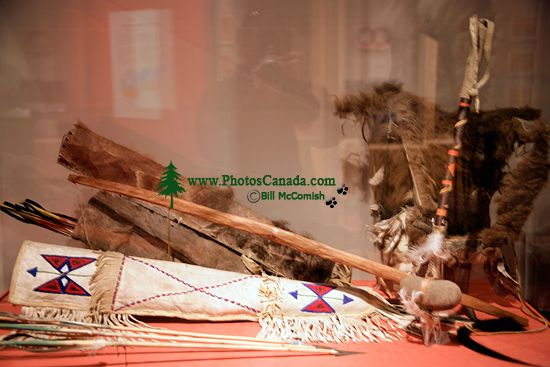Glenbow Museum, Native Bow and Arrow, First Nations Gallery, Calgary, Alberta, Canada CM11-36
