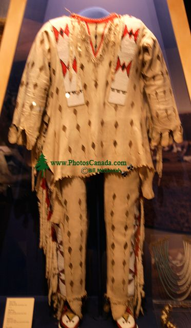 Glenbow Museum, Native Clothing, First Nations Gallery, Calgary, Alberta, Canada CM11-27