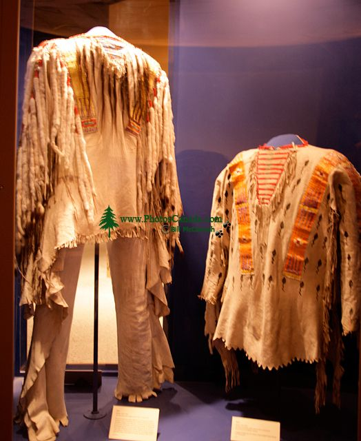 Glenbow Museum, Native Clothing, First Nations Gallery, Calgary, Alberta, Canada CM11-29