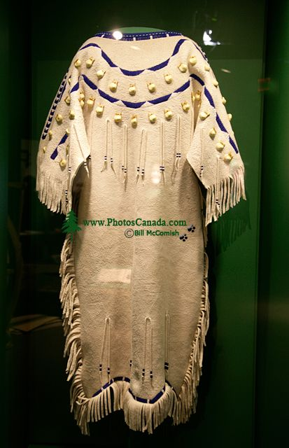 Glenbow Museum, Native Clothing, First Nations Gallery, Calgary, Alberta, Canada CM11-26