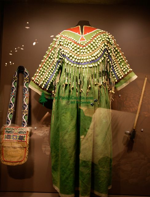 Glenbow Museum, Native Clothing, First Nations Gallery, Calgary, Alberta, Canada CM11-25