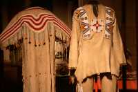 Glenbow Museum, Native Clothing, First Nations Gallery, Calgary, Alberta, Canada CM11-28