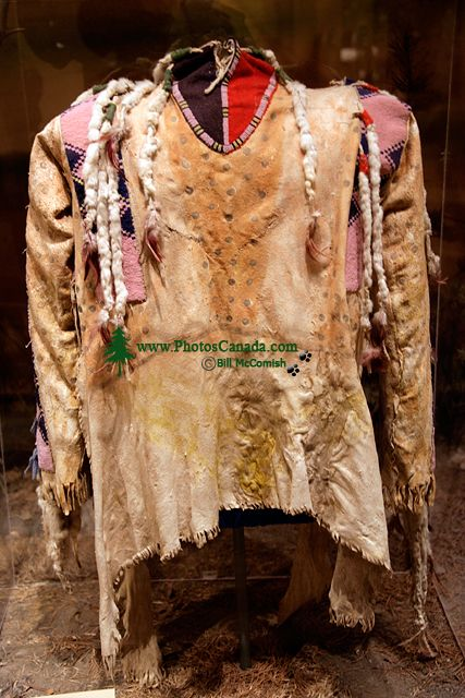 Glenbow Museum, Native Jacket, First Nations Gallery, Calgary, Alberta, Canada CM11-22