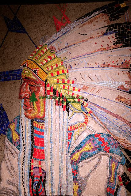 Glenbow Museum, Native Painting, First Nations Gallery, Calgary, Alberta, Canada CM11-10