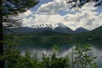 Highlight for Album: Gun Lake, Gold Bridge Region, British Columbia Stock Photos
