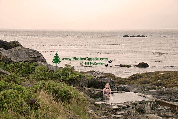 Hotspings, Hotspring Island, Gandll K'in Gwaay Yaay, Watchmen House, Haida Heritage Site, Gwaii Haanas National Park Reserve, British Columbia, Canada CM11-002