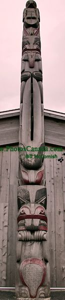 Haida Heritage Centre, Skidegate, Queen Charlotte Islands, Haida Gwaii, British Columbia, Canada CM11-05