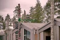 Highlight for Album: Haida Heritage Centre Photos, Skidegate, Queen Charlotte Islands, Haida Gwaii, First Nations Stock Photos