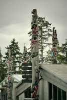 Haida Heritage Centre, Skidegate, Queen Charlotte Islands, Haida Gwaii, British Columbia, Canada CM11-03