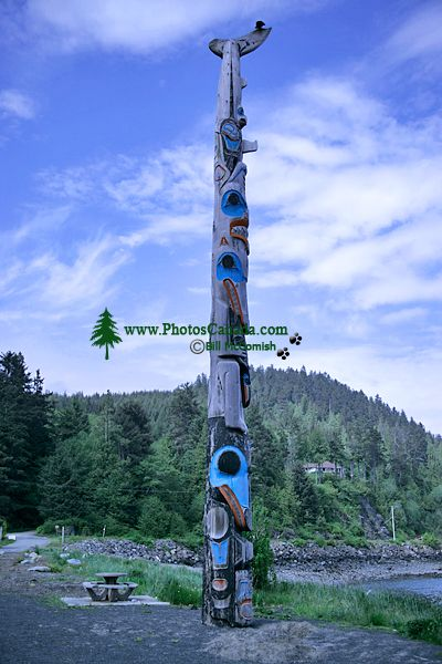 Haida Heritage Centre, Skidegate, Queen Charlotte Islands, Haida Gwaii, British Columbia, Canada CM11-08