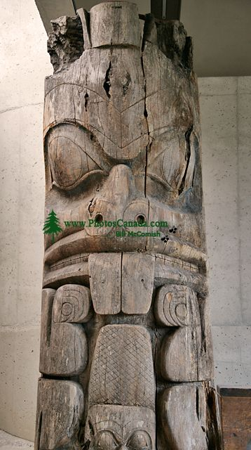 Haida Totem Pole, Museum of Anthropology. British Columbia, Canada CM11-03