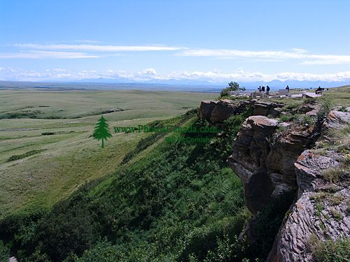 Head Smashed In Buffalo Jump, UNESCO World Heritage Site, Alberta, Canada 01