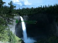 Highlight for Album: Helmcken Falls Photos, Wells Gray Park, British Columbia, Canada