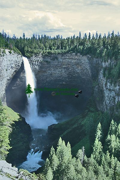 Helmcken Falls, Wells Gray Park, British Columbia, Canada CM11-06