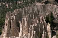 Hoodoos, South East Kootenays, British Columbia, Canada CM11-038
