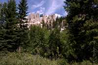 Hoodoos, South East Kootenays, British Columbia, Canada CM11-012