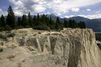 Hoodoos, South East Kootenays, British Columbia, Canada CM11-024