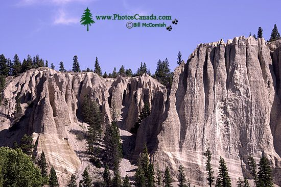 Hoodoos, South East Kootenays, British Columbia, Canada CM11-002
