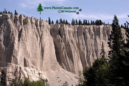 Hoodoos, South East Kootenays, British Columbia, Canada CM11-003