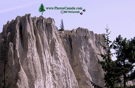 Hoodoos, South East Kootenays, British Columbia, Canada CM11-005