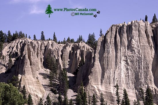 Hoodoos, South East Kootenays, British Columbia, Canada CM11-006