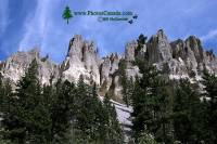 Highlight for Album: Hoodoos, South East Kootenays - British Columbia Stock Photos
