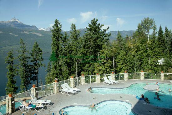 Halcyon Hot Springs, Arrow Lakes, British Columbia, Canada CM11-005