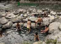 Lussier Hot Springs, Whiteswan Provincial Park, British Columbia, Canada CM11-006