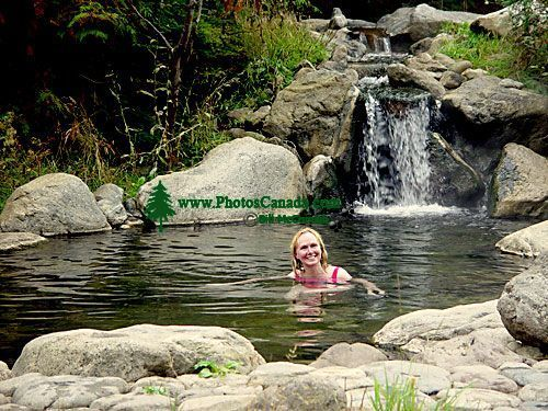 Meaghan Creek Hot Springs, West of Pemberton, British Columbia, Canada CM11-001