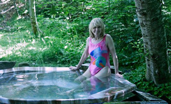 Skookumchuck Hot Springs, Lillooet Lake,  British Columbia, Canada CM11-002