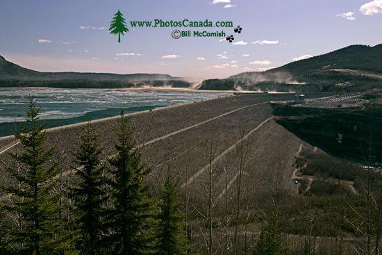 WAC Bennett Dam, Hudsons Hope, British Columbia CM11-08