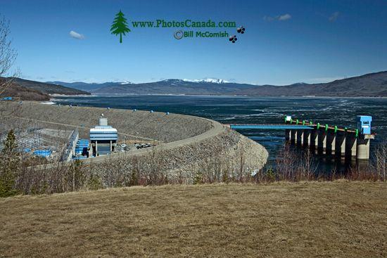 WAC Bennett Dam, Hudsons Hope, British Columbia CM11-09