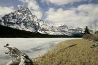 Lower Waterfowl Lake, Icefields Parkway, Spring 2009, Banff National Park, Alberta CM11-28
