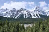 Icefields Parkway, Spring 2009, Banff National Park, Alberta CM11-30