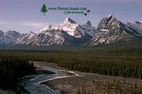 Highlight for Album: Icefields Parkway Photos, 2009, Jasper and Banff National Parks, Alberta, National Parks of Canada Stock Photos
