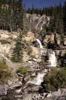 Tangle Falls, Icefields Parkway September 2009, Jasper National Park CM-006