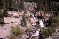 Tangle Falls, Icefields Parkway September 2009, Jasper National Park CM-005