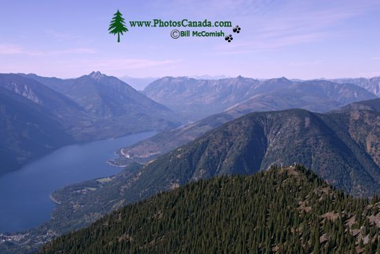 Idaho Peak Views, Kootenays, British Columbia, Canada CM11-001