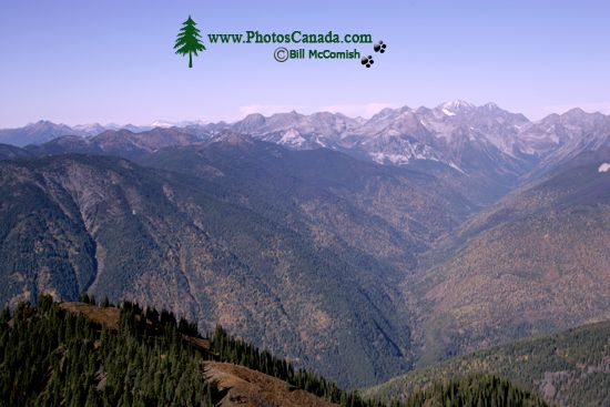 Idaho Peak Views, Kootenays, British Columbia, Canada CM11-002